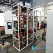 Будущие шкафы-ГРЩ с использованием выдвижных модулей, в которых устанавливается вся необходимая защитная, коммутационная и вспомогательная аппаратура (автоматические выключатели, контакторы, тепловые реле, вспомогательные реле, транформаторы тока, преобразователи частоты и пр.), что позволяет реализовать концепцию непрерывного технологического процесса в любых даже самых сложных сейсмо- и климатических условиях. Для соединения шкафов и подключения к источнику электроснабжения используются специальные шинные мосты. ᅠ #грщ #электротехническоеоборудование #системныерешения #партнеры #сотрудничество
