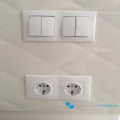 Повседневный продукт от компании Шнайдер Электрик - электроустановочные элементы в квартире - без них никуда!  ᅠ #Шнайдер #Schneider #розетки #выключатели #электроустановочныеэлементы #ремонт #системныеРешения #бесплатнаяДоставка #МыРядом